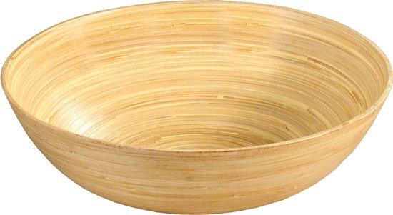 Bamboe houten fruitschaal