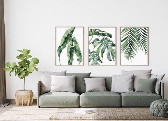 Design Canvas Poster Set Botanisch