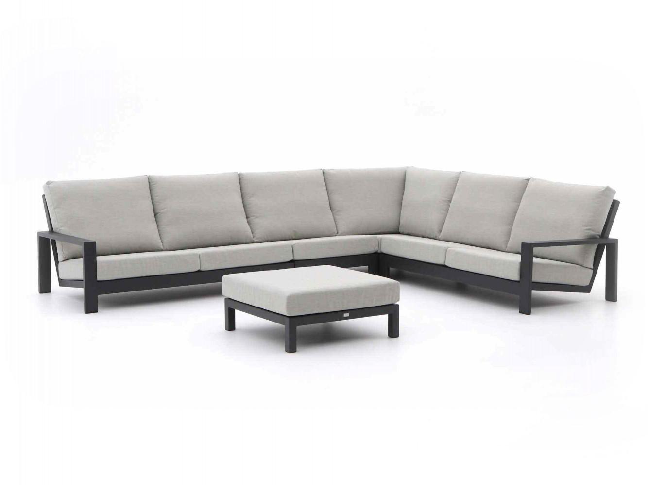 Design loungebanken van aluminium