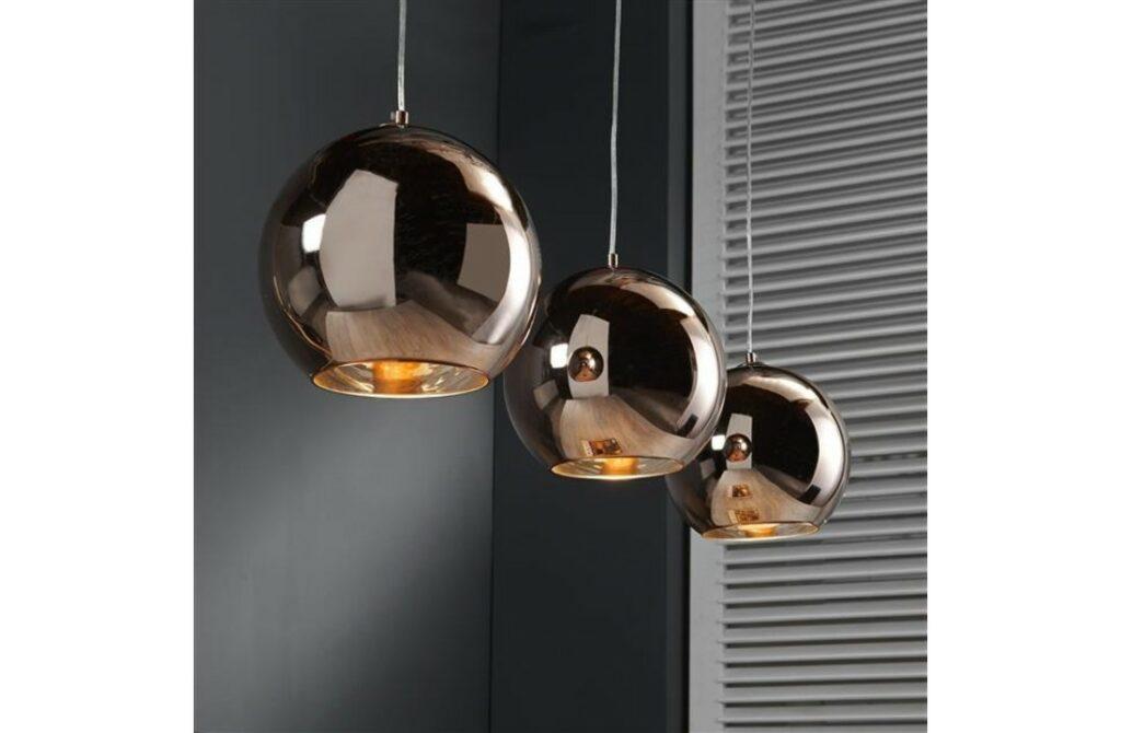Glazen Bol hanglamp