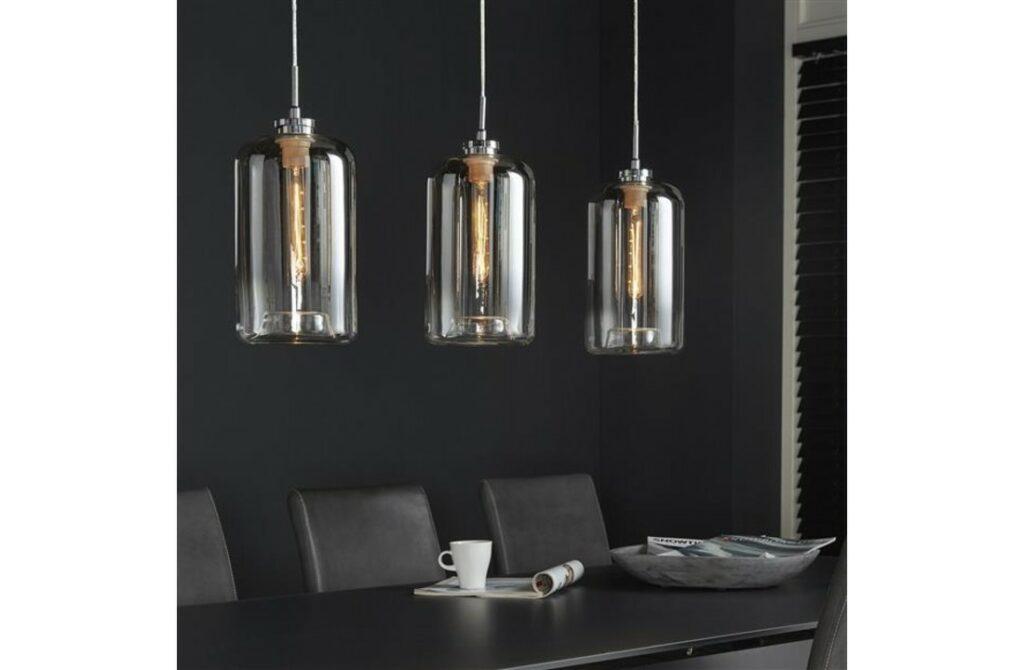 Glazen langwerpige Hanglamp