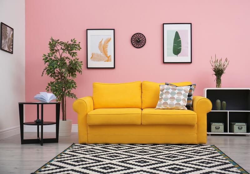 Kleurrijke meubels