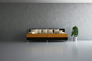 een minimalistisch interieur