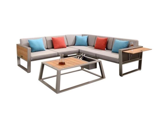 aluminium design loungebank