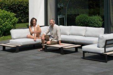 aluminium hoek loungeset