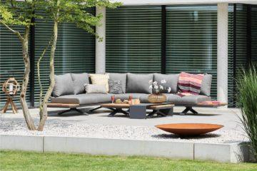 aluminium hoek loungesets