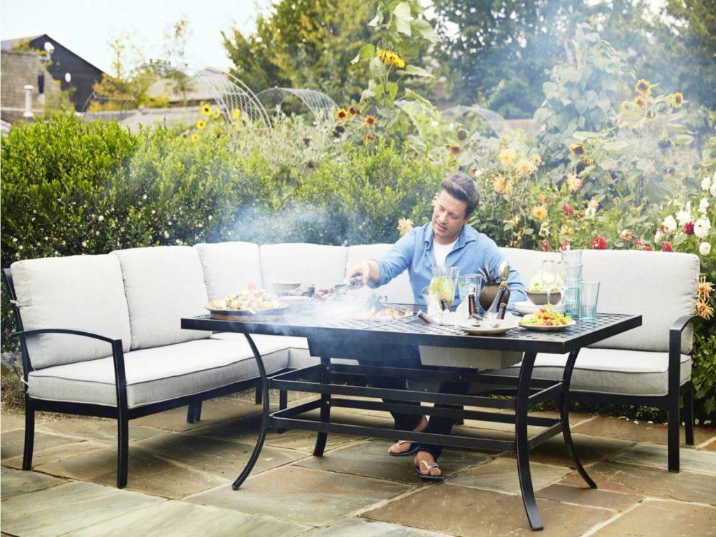 aluminium hoek loungesets voor in de tuin