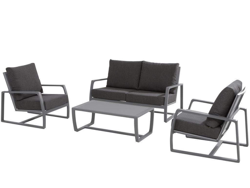aluminium stoel bank loungeset