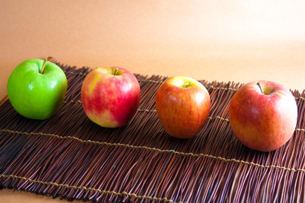 appels uit eigen tuin