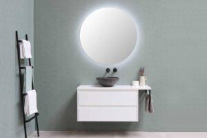 badkamerspiegel met verlichting
