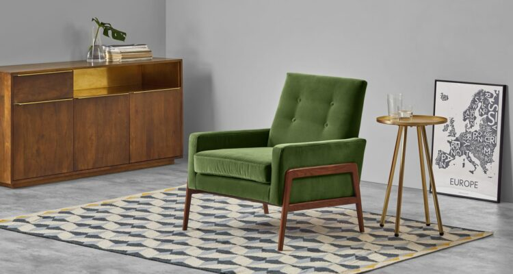 design fauteuils groen