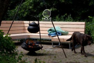 design loungebank voor buiten