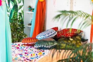 een Marrakech look in huis