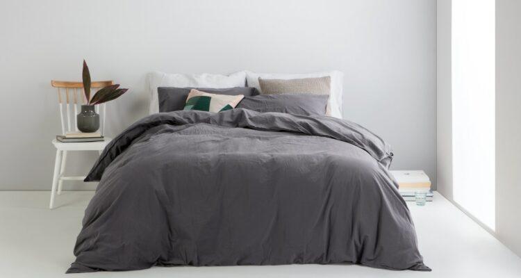 een minimalistische slaapkamer