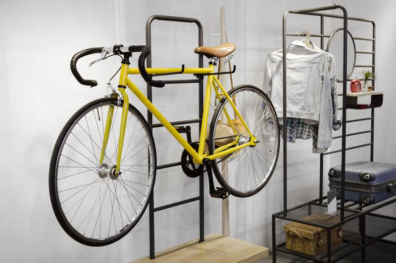 fiets in je interieur