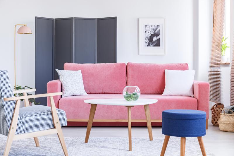flamingoroze in je interieur