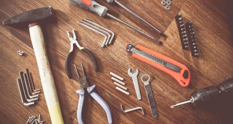 gereedschap in huis