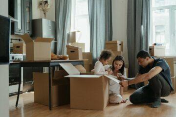 huis gekocht verhuizen