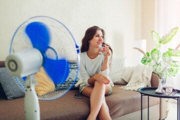 huis koel houden tijdens hittegolf