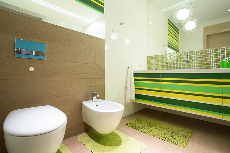 Badkamer Laten Maken : Kleurrijke badkamers nieuwe wonen