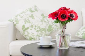 leuke plekken voor bloemen in huis