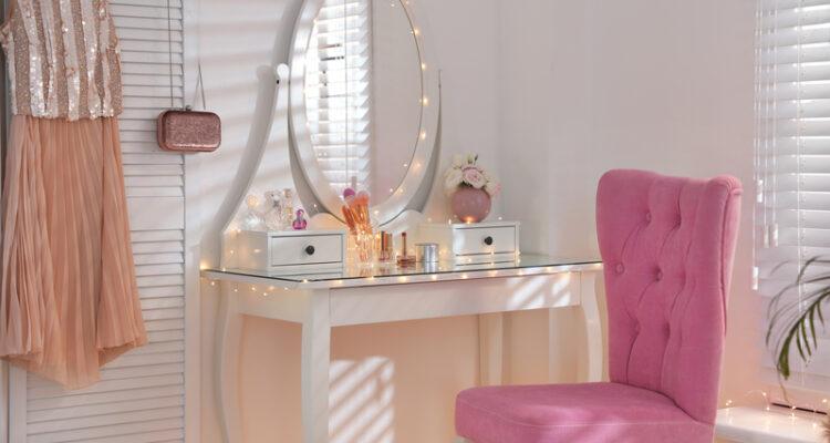 make-up tafel inrichten