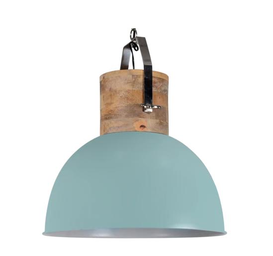 mintgroene hanglamp
