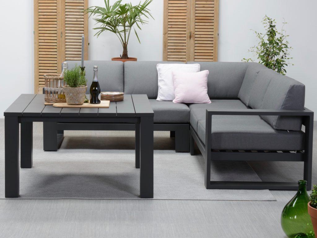 Design loungebanken van aluminium nieuwe wonen