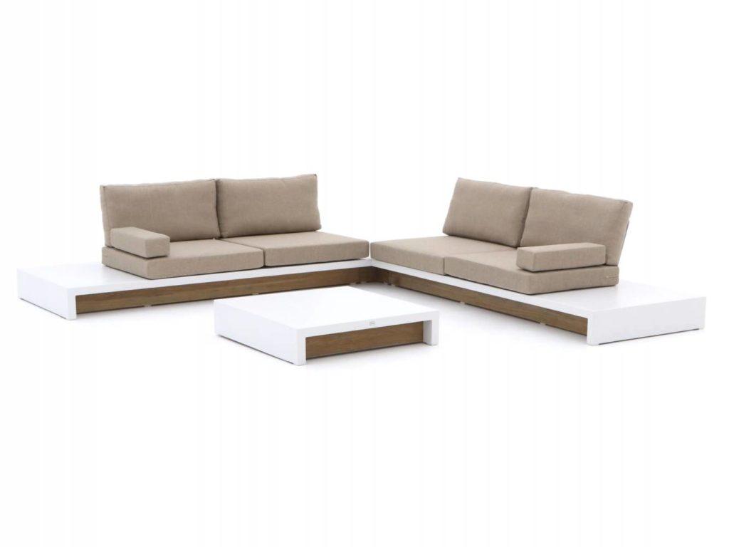 mooie aluminium hoek loungesets voor buiten