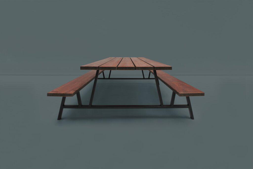 mooie picknicktafel