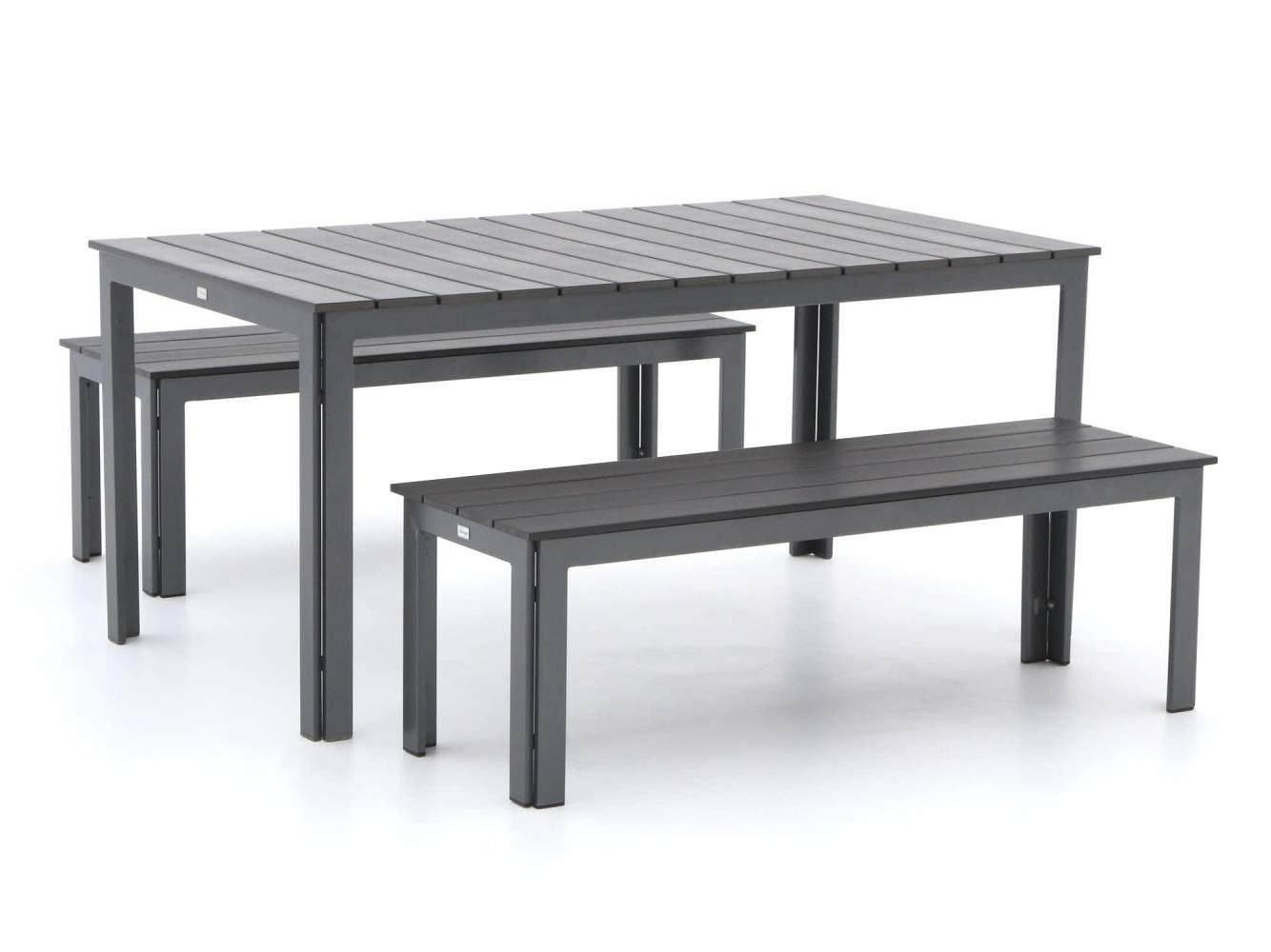 picknicktafel met dubbele bank