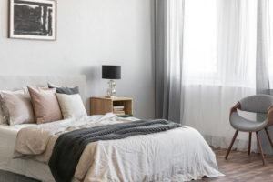 slaapkamer groter laten lijken