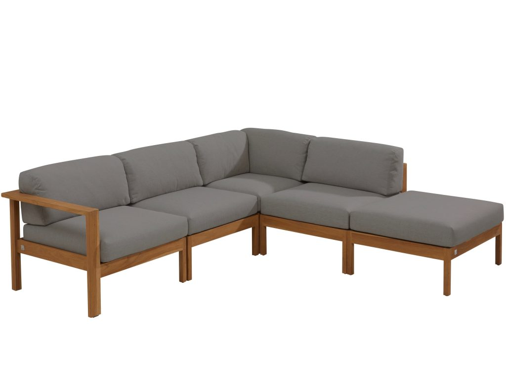 teak loungebank