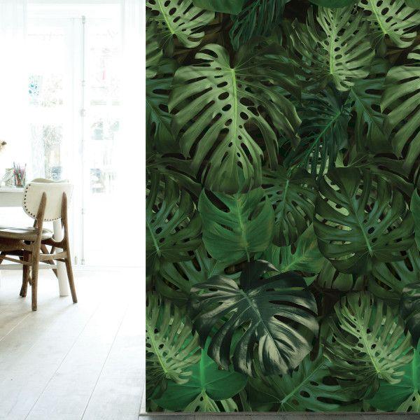 tropisch behang voor een hip interieur