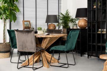 velvet meubels