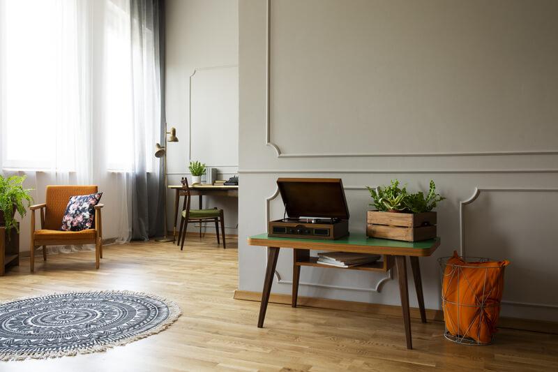 Vintage Woonkamer Inrichting Vintage Woonkamer Interieur