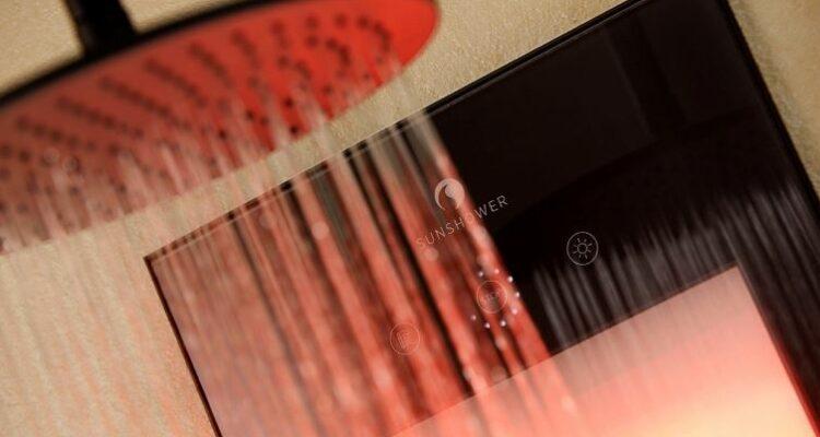 wat is een infrarood douchepaneel